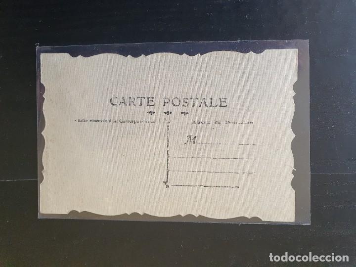 Postales: BANDERA ALEMÁN POMERANIEN DU 94. TOMADA A LOS ALEMANES. POSTAL TROQUELADA - Foto 2 - 254800670