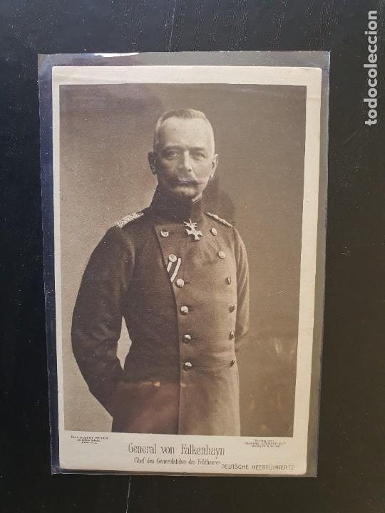 GENERAL VON FALKENHAYN, (Postales - Postales Temáticas - I Guerra Mundial)