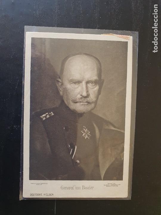 GENERAL VON BESELER (Postales - Postales Temáticas - I Guerra Mundial)