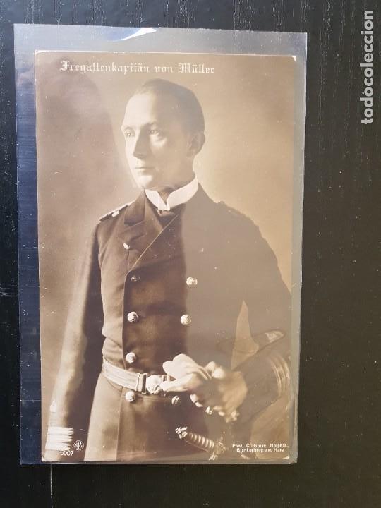CAPITÁN DE FRAGATA VON MÜLLER (Postales - Postales Temáticas - I Guerra Mundial)