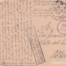Postales: TARJETA POSTAL ROMA. CENSURA MILITAR PRIMERA GUERRA MUNDIAL. CIRCULADA.. Lote 257276285