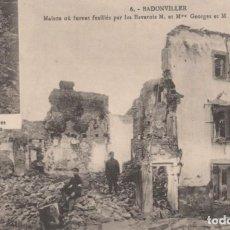 Postais: POSTAL FRANCIA - BADONVILLER - MAISON OU FURENT FUSILLES PAR LES BAVAROIS M. ET MME GEORGE. Lote 259972360