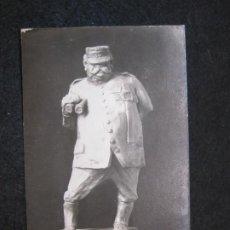 Postales: I GUERRA MUNDIAÑ-ESCULTURA DEL GENERAL JOFFRE-FOTOGRAFICA-POSTAL ANTIGUA-(81.454). Lote 267655509