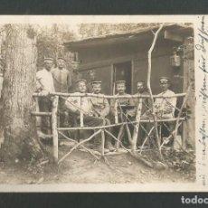 Postales: ANTIGUA POSTAL FOTOGRAFICA ORIGINAL PRIMERA GUERRA MUNDIAL FECHADA EN 1916. Lote 268797019
