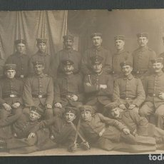 Postales: ANTIGUA POSTAL FOTOGRAFICA ORIGINAL PRIMERA GUERRA MUNDIAL FECHADA EN 1917. Lote 268797109