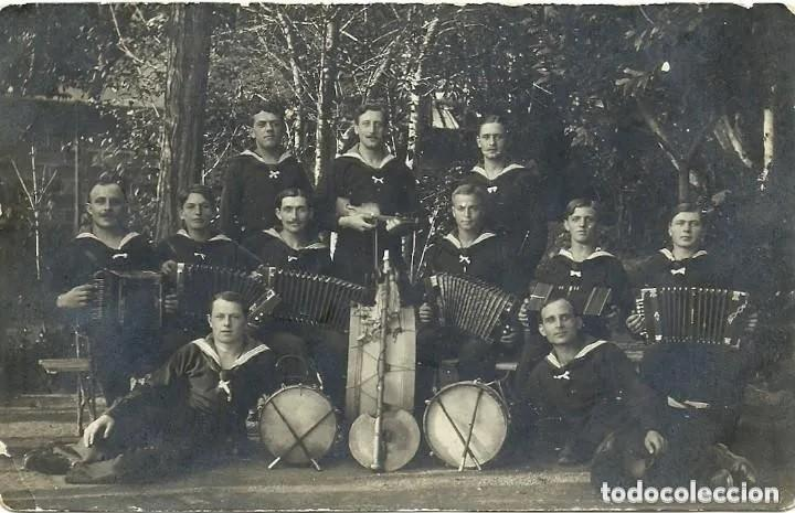 Postales: 7389 - JOVENES ALEMANES QUE PASABAN A MENDIGAR- TARJETA POSTAL 1ª GUERRA MUNDIAL JULIO 1915 - Foto 3 - 276111343