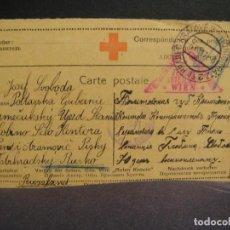 Postales: CRUZ ROJA - CORRESPONDENCIA DE PRISIONEROS DE GUERRA AÑO 1917. Lote 276770648