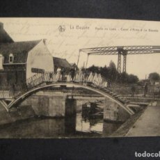 Postales: POSTAL CIRCULADA ALEMANIA - 1º GUERRA MUDIAL - FECHADOR DE LA UNIDAD MILITAR AÑO 1915. Lote 277217878