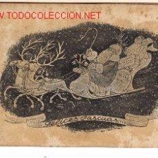Cartes Postales: POSTAL SATÍRICA NAVIDEÑA CONTRA LAS NACIONES UNIDAS. AÑO 1944.. Lote 887071