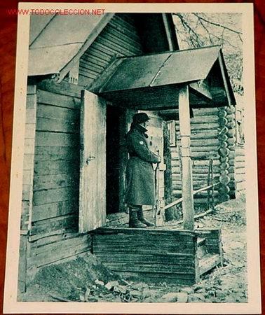 ANTIGUA PÒSTAL DE LA DIVISION AZUL ESPAÑOLA EN RUSIA (Postales - Postales Temáticas - II Guerra Mundial y División Azul)