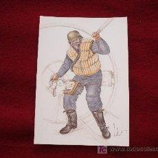 Postales: LOTE DE 15 POSTALES: UNIFORMES ALEMANES DEL III REICH. Lote 111398134