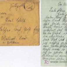 Postales: ALEMANIA III REICH HISTORIA POSTAL, SOBRE CON CARTA CIRCUALDO 27 - 5 - 1940. FRANQUICIA 3 ))). Lote 26792613