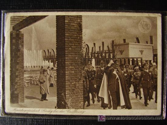 POSTAL ALEMANA ORIGINAL DEL REICHMARSHALL GOERING (Postales - Postales Temáticas - II Guerra Mundial y División Azul)
