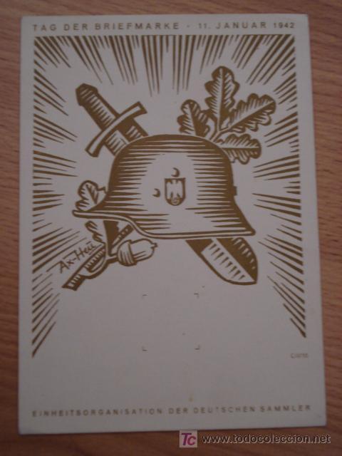 ANTIGUA POSTAL DE II GUERRA MUNDIAL - 11 JANUAR 1942 - NO CIRCULADA (Postales - Postales Temáticas - II Guerra Mundial y División Azul)