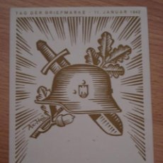 Postales: ANTIGUA POSTAL DE II GUERRA MUNDIAL - 11 JANUAR 1942 - NO CIRCULADA. Lote 27207685