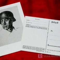 Postales: POSTAL DIVISION AZUL - 1941 - REPRODUCCION FIDEDIGNA AL ORIGINAL 100% POSTAL MUY RARA. FONDO BLANCO. Lote 6755171