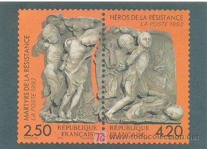 HEROES DE LA RESISTENCIA FRANCESA (Postales - Postales Temáticas - II Guerra Mundial y División Azul)