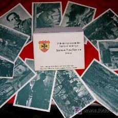 Postales: SOBRE CARTERA 12 POSTALES DIVISION AZUL SERIE I - VOLUNTARIOS ESPAÑOLES FRENTE AL ENEMIGO FASCIMIL. Lote 26810097