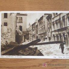 Postales: POSTAL DE RIGA EN RUINAS AÑOS 40. Lote 21909088