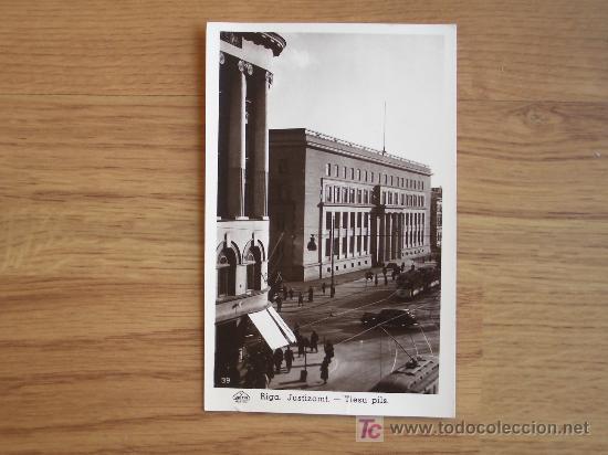 POSTAL DE RIGA. ALEMANIA (Postales - Postales Temáticas - II Guerra Mundial y División Azul)