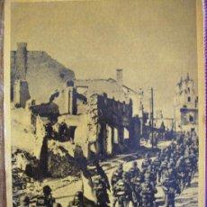 Postales: MARCHA ATRAVES DE UNA CIUDAD CONQUISTADA. Lote 26344162