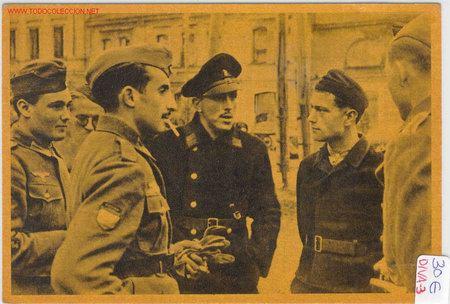 POSTAL DIVISION AZUL (Postales - Postales Temáticas - II Guerra Mundial y División Azul)