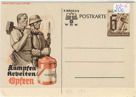 POSTAL NA-6 (Postales - Postales Temáticas - II Guerra Mundial y División Azul)