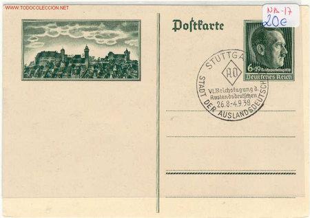 POSTAL NA-17 (Postales - Postales Temáticas - II Guerra Mundial y División Azul)