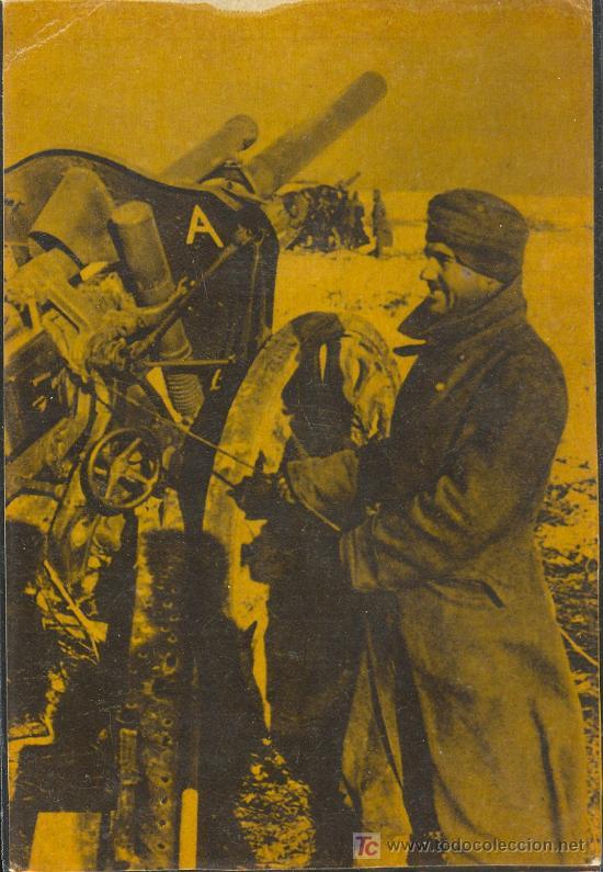 TARJETA POSTAL DE LA DIVISION AZUL.LA CRUZADA EUROPEA CONTRA EL BOLCHEVISMO (Postales - Postales Temáticas - II Guerra Mundial y División Azul)