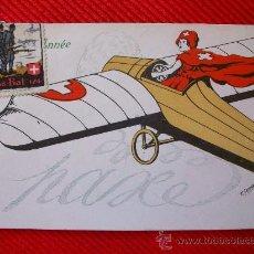 Postales: POSTAL SUIZA -TIMBRE MUY BONITO. Lote 9968511