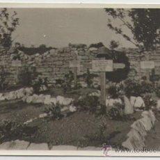 Postales: III REICH FOTO POSTAL ORIGINAL DE LAS TUMBAS DE SOLDADOS ALEMANES CERCA DEL FRENTE, 6. Lote 26403706