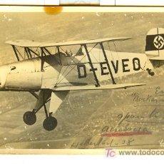 Postales: TARJETA POSTAL DE UN AVION . Lote 27093212