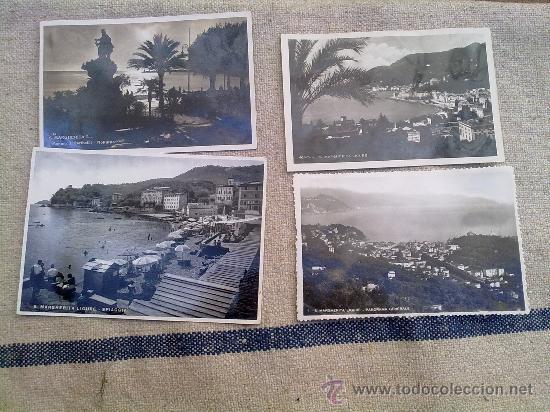 4 POSTALES ORIGINALES II GUERRA MUNDIAL ,ITALIA (Postales - Postales Temáticas - II Guerra Mundial y División Azul)