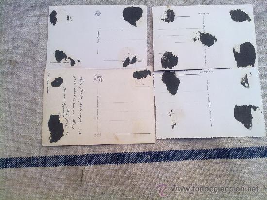 Postales: 4 POSTALES ORIGINALES II GUERRA MUNDIAL ,ITALIA - Foto 3 - 22762650