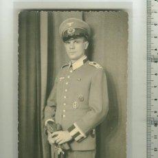 Postales: FOTO ORIGINAL DE UN SOLDADO ALEMÁN 2ª G.M.. Lote 26949687