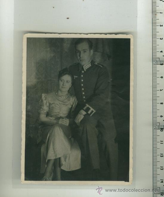 FOTO ORIGINAL DE UN SOLDADO ALEMÁN 2ª G.M. (Postales - Postales Temáticas - II Guerra Mundial y División Azul)