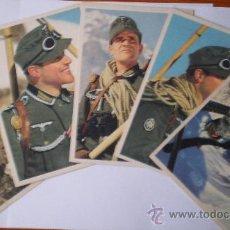 Postales: COLECCIÓN COMPLETA DE CINCO POSTALES DE GERBISJÄGER ALEMANES SEGUNDA GUERRA MUNDIAL. Lote 26994038