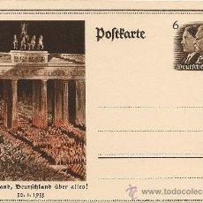 Postales: POSTAL (POSTKARTE) TERCER REICH SIN CIRCULAR.. Lote 26645422