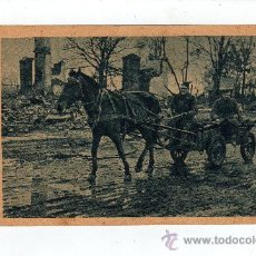 Postales: POSTAL DE LA 2ª GUERRA MUNDIAL DE LA DIVISION AZUL MUNICION A LA PRIMERA LINEA. Lote 23129112