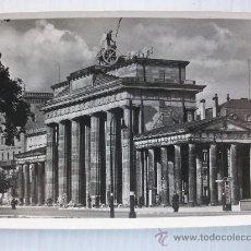 Postales: POSTAL DEL BERLIN NACIONAL-SOCIALISTA. RECUERDO DE UN DIVISIONARIO.. Lote 23573150