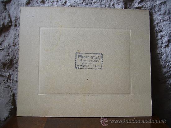 Postales: Fotografía original sobre cartón Alemania 2ª Guerra mundial RAD 27 cm X 22 cm - Foto 2 - 25741291