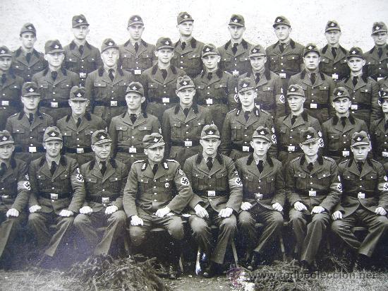 Postales: Fotografía original sobre cartón Alemania 2ª Guerra mundial RAD 27 cm X 22 cm - Foto 3 - 25741291
