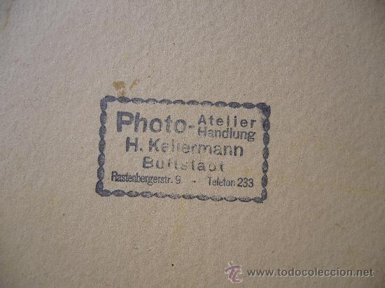 Postales: Fotografía original sobre cartón Alemania 2ª Guerra mundial RAD 27 cm X 22 cm - Foto 4 - 25741291