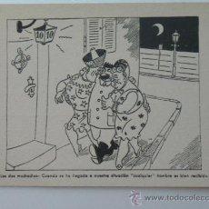 Postales - Tarjeta postal satirica propaganda alemana. - 40544729