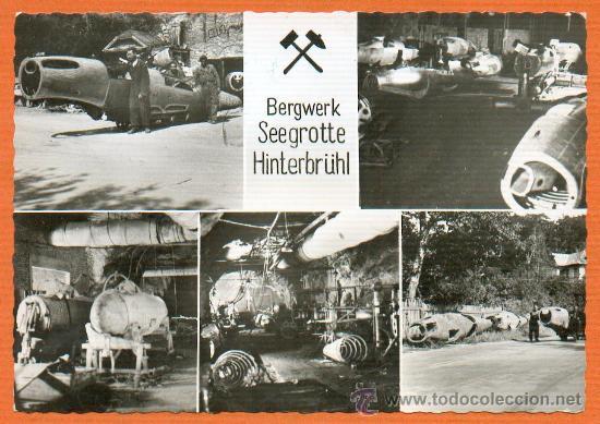 2ª GUERRA MUNDIAL 1944-1945 FABRICA SUBTERRANEA DE AVIONES HEINKEL SIN CIRCULAR ORIGINAL (Postales - Postales Temáticas - II Guerra Mundial y División Azul)