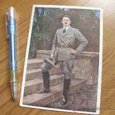 Postales: POSTAL DE ADOLF HITLER ENVIADA POR UN ESPAÑOL POSIBLEMENTE DIVISION AZUL. Lote 29222864