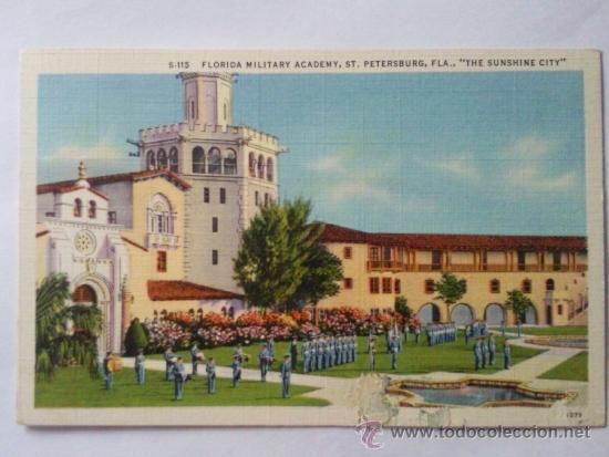 POSTAL MILITAR, ACADEMIA MILITAR DE FLORIDA (Postales - Postales Temáticas - II Guerra Mundial y División Azul)