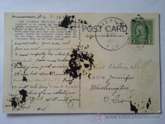 Postales: POSTAL MILITAR, ACADEMIA MILITAR DE FLORIDA - Foto 2 - 31915042