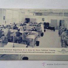 Postales: POSTAL MILITAR, DEPARTAMENTO INSTRUMENTOS DE PRESION, EDUCACION TECNICA, FUERZAS AEREAS. Lote 31915389