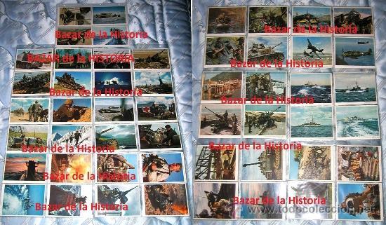 52 POSTALES MILITARES PROPAGANDA ALEMANA EN COLOR - SERIE COMPLETA 1944 III REICH II GM (Postales - Postales Temáticas - II Guerra Mundial y División Azul)